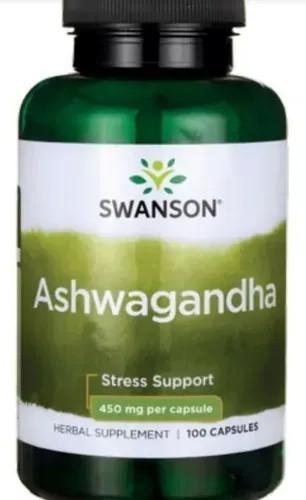 Ashwagandha Frasco 100 capsulas