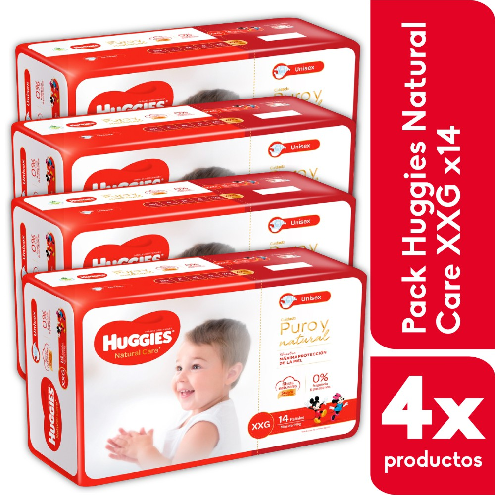 Pack Natural Care Xxg X14