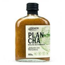 Plancha molho de pimenta capitão ardêncio molho de pimenta jalapeño com chimichurri Vidro com 160 ML