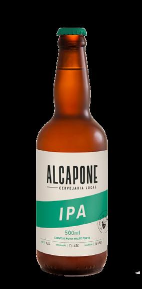 Cerveja al capone ipa Garrafa com 500 ML