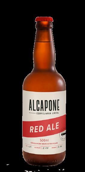 Cerveja al capone red ale Garrafa com 500 ML