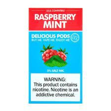 Pods Pack x4 - Compatible con Juul - Raspberry Mint Pack 4