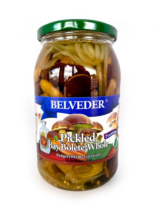 Pickled bay bolette whole 900g