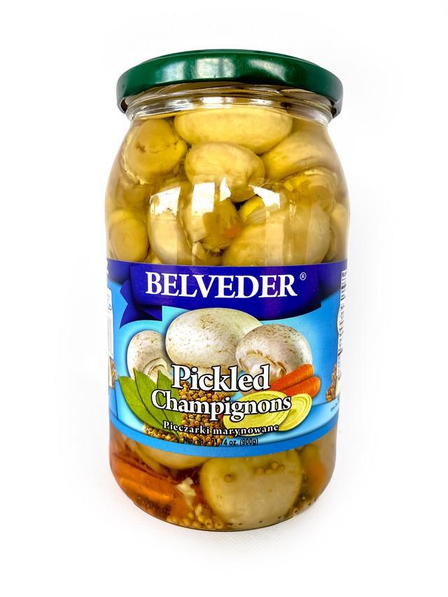 Belveder pickled champignions 900g