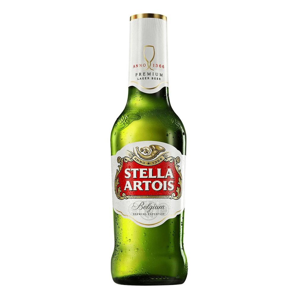Cerveja stella artois long neck Embalagem Long Neck  330ml
