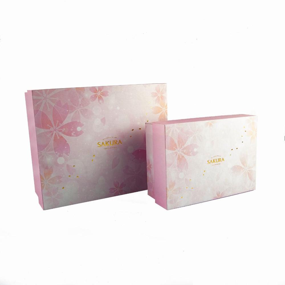 Set caja de regalo sakura flores