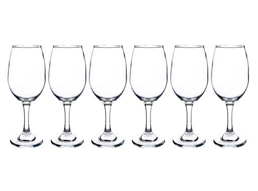 Set de copas para vino tinto rioja 6 un