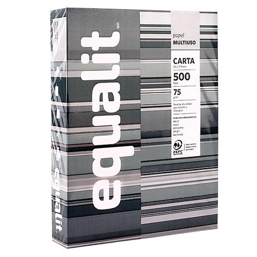 Papel multipropósito tamaño carta 500 hojas