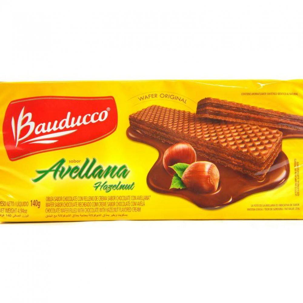 Galleta Wafer Choco Avella Bauducco