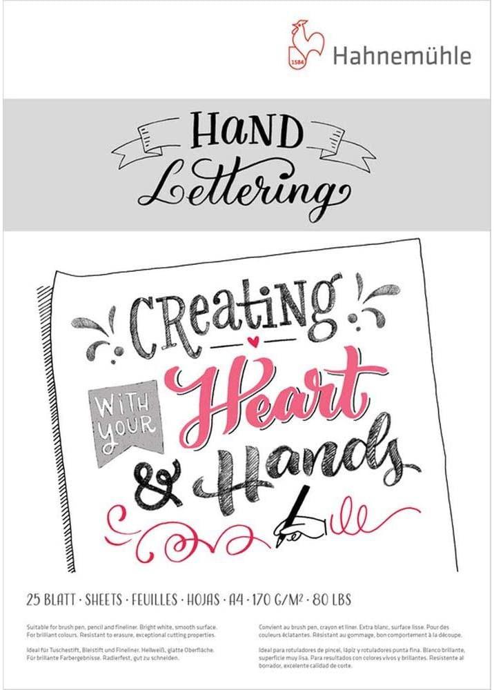 Block hand lettering