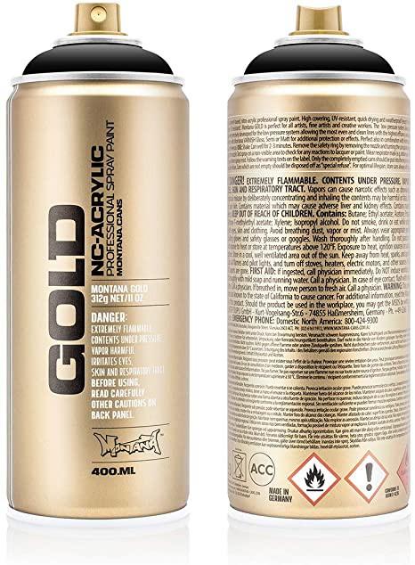 Spray Montana Gold Shock Black