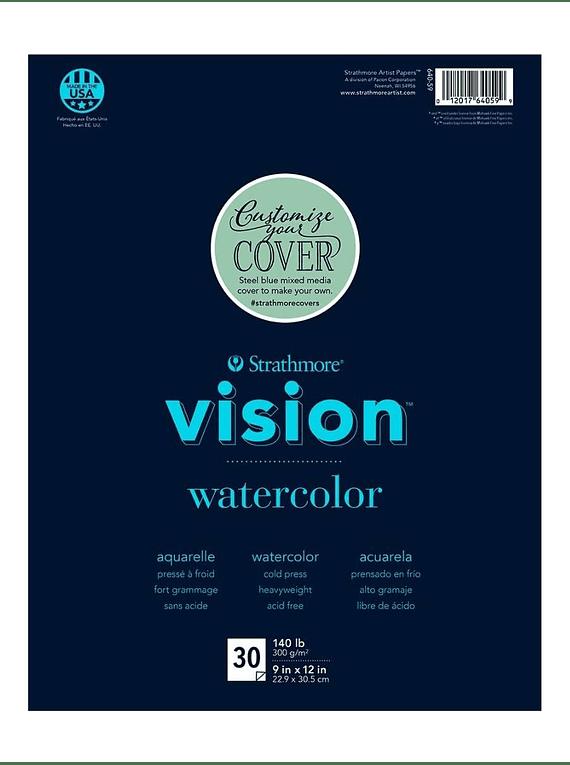 Block Acuarela Vision