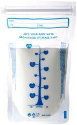 Bolsa de almacenamiento de leche
