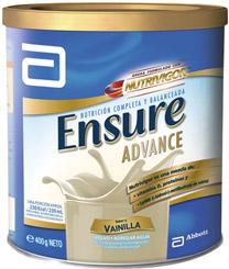 Suplemento nutricional Advance en polvo sabor vainilla