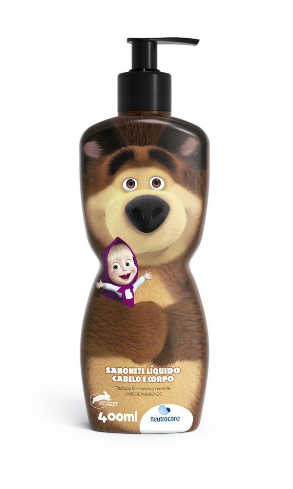 Sabonete líquido cabelo e corpo Masha e o Urso