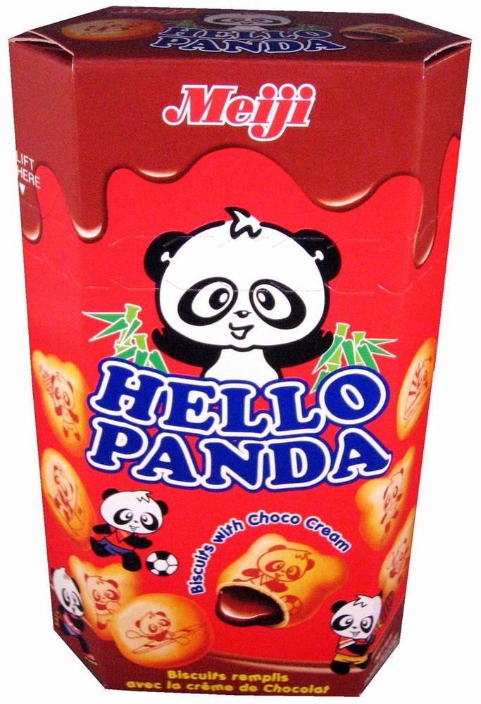 Hello panda chocolate biscuits