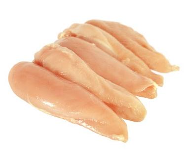 File de peito de frango - bife Embalagem 500g