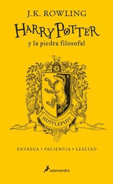 Harry potter y la piedra filosofal. hufflepuff (20 años) (td)