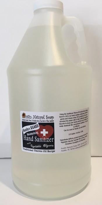 Austin's guard moisturizing hand sanitizer bulk