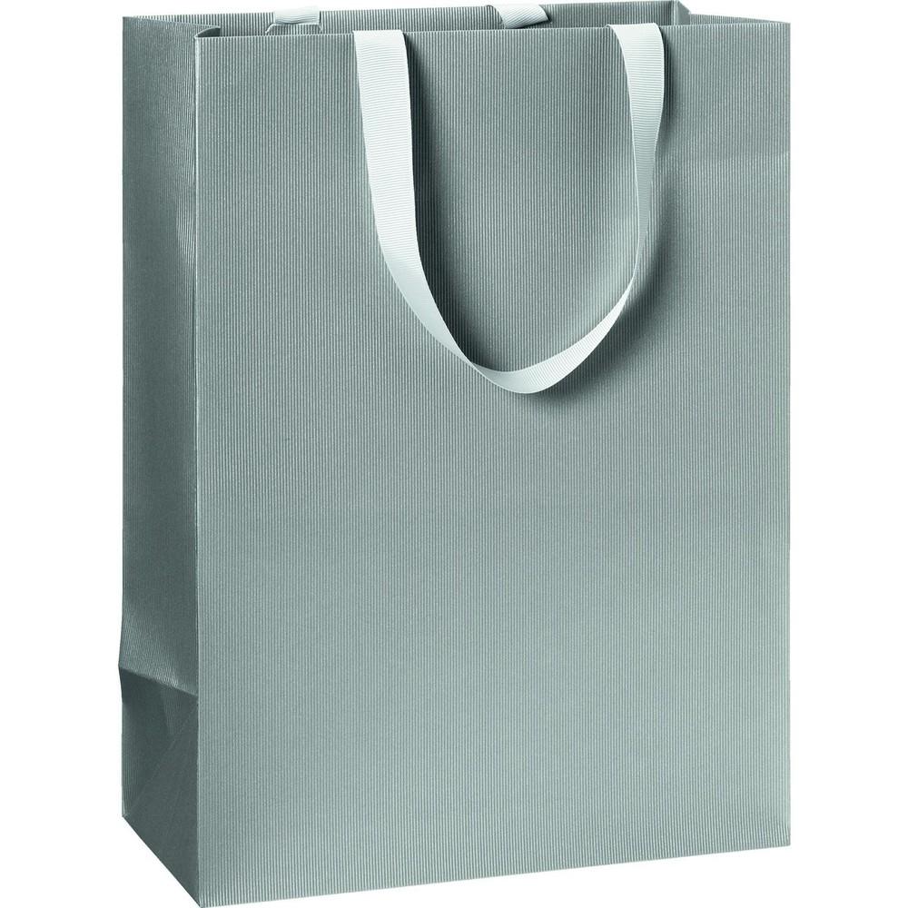 Bolsa regalo grande - plata