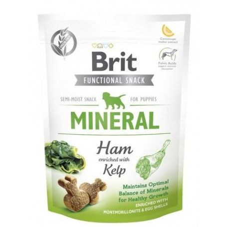Golosinas brit functional snack mineral ham