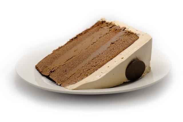 Chocolate fudge mousse cake 1 Slice