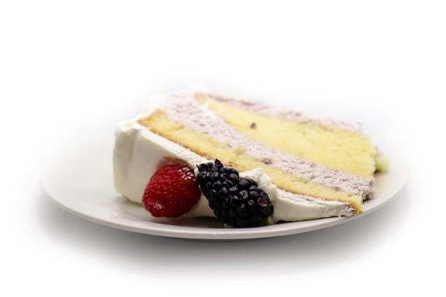 Berry chiffon cake 1 Slice