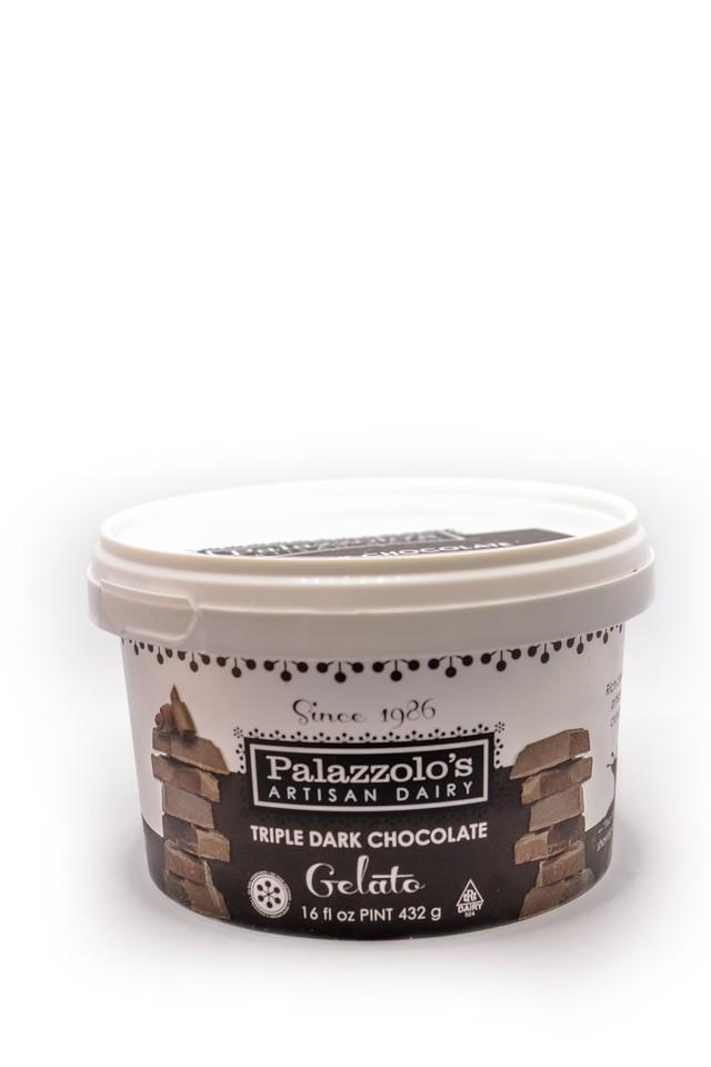 Gelato triple chocolate 16 oz