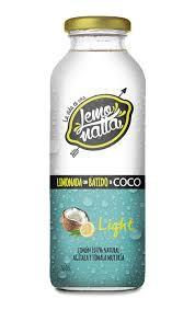 Limonada con batido de coco
