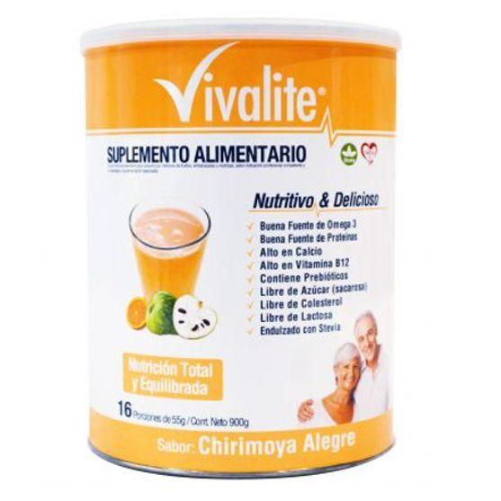 Suplemento alimentario vivalite chirimoya alegre