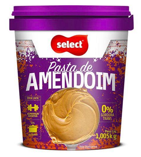 Pasta amendoim integral sem açúcar
