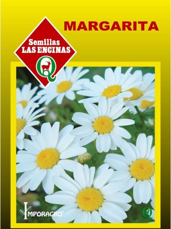 Semillas de flores margarita manzanillón