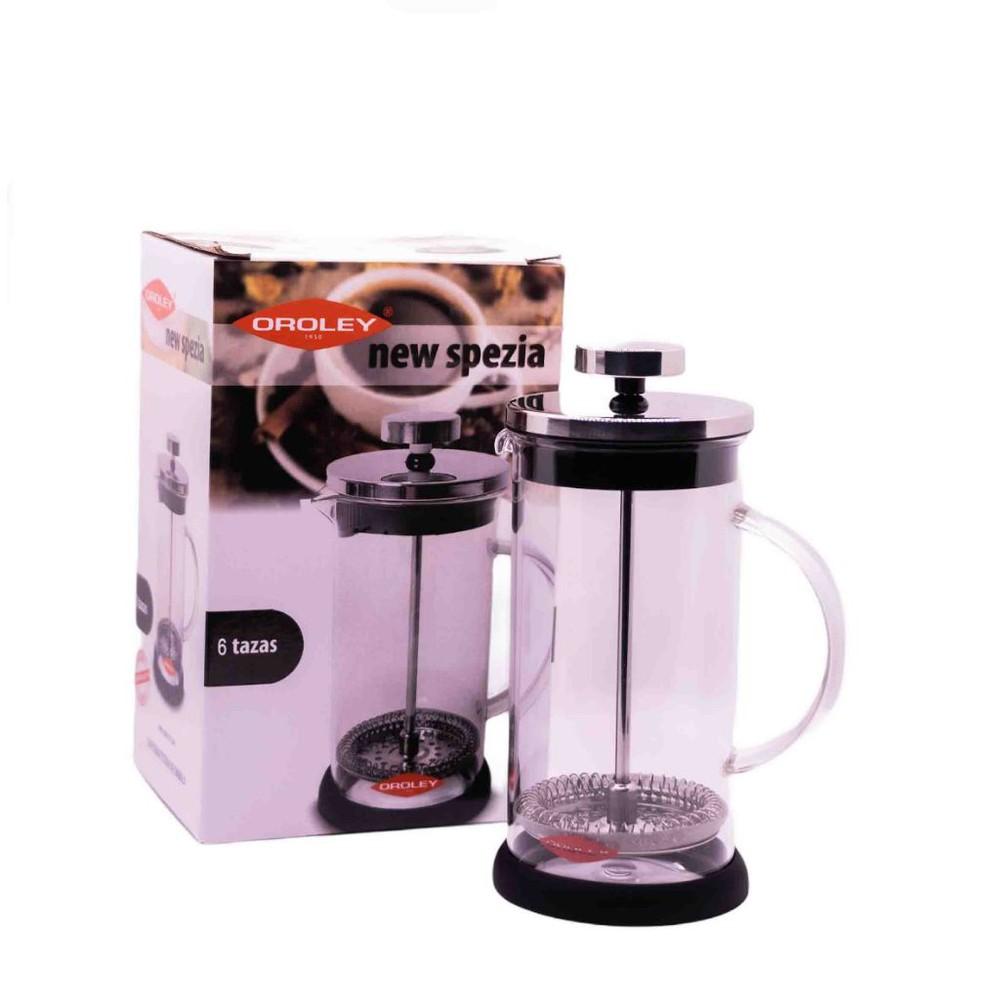 Cafetera prensa francesa new spezia 600 ml.
