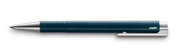 204 boligrafo logo m+ petrol brillante Largo 22.0 cm