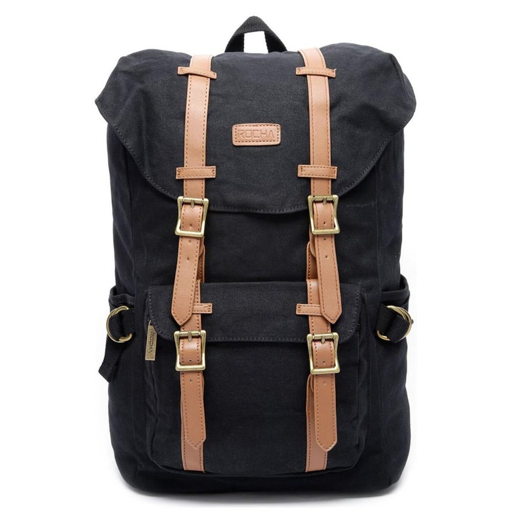 Mochila porta laptop Grand Canyon negra 29 x 43 x 20 cm.