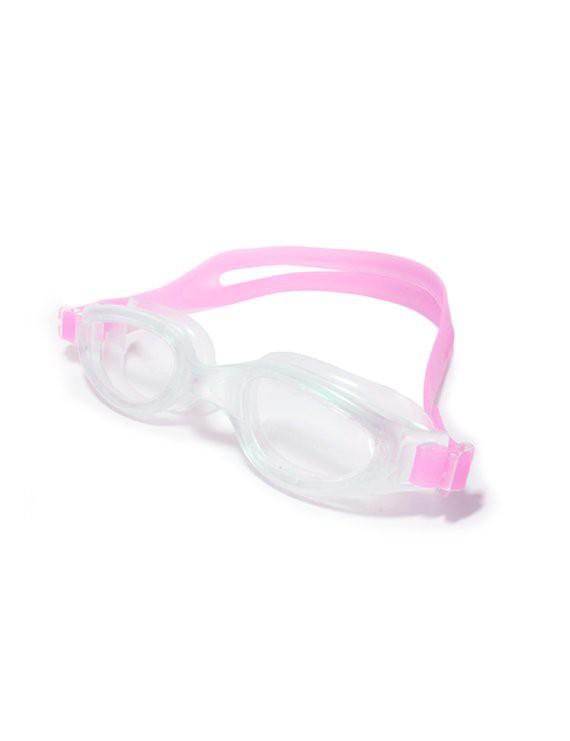 Lente para natación con correa de silicona rosado Tamaño: unico