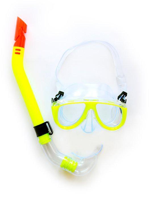 Snorkel amarillo adulto