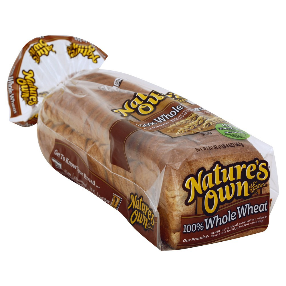 Whole Wheat Bread 20 oz