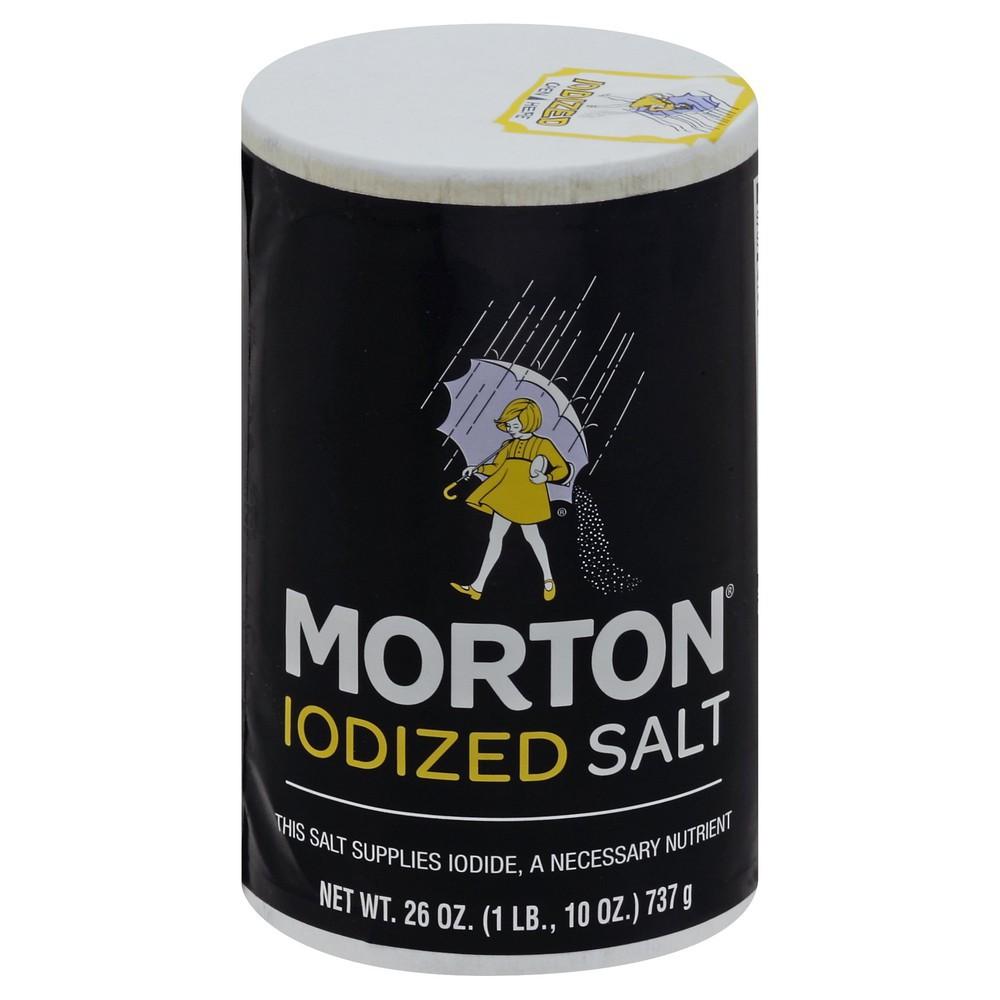 Salt Iodized 26 oz