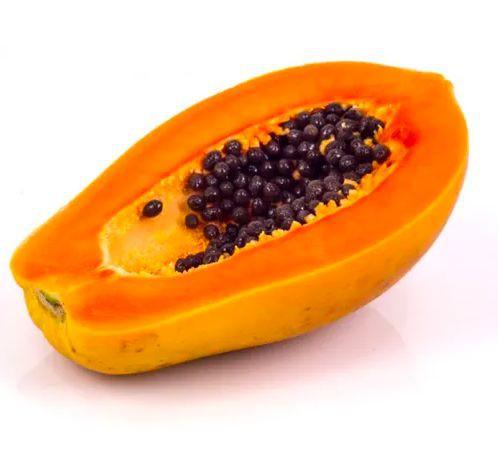 Mamão papaya metade