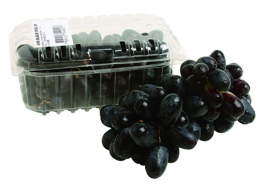 Uva preta com semente