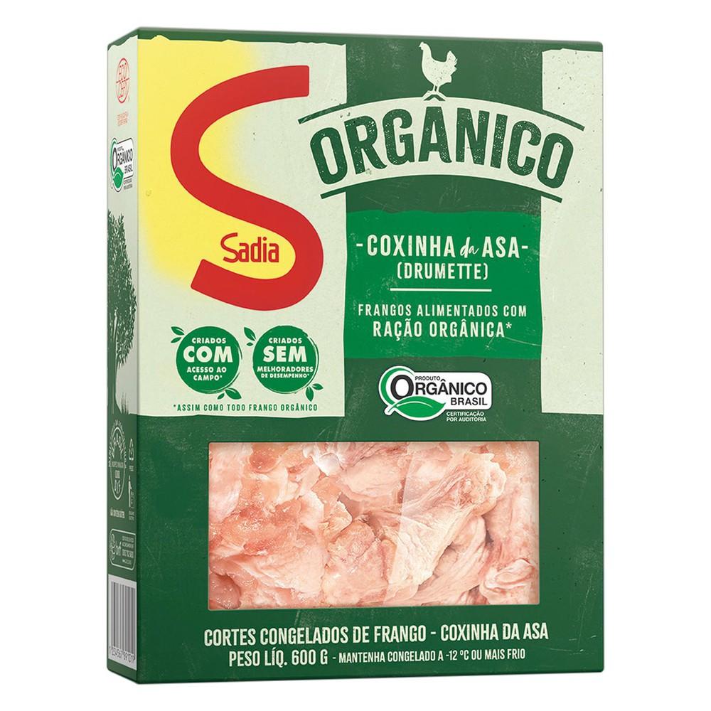 Coxinha da asa de frango congelada orgânica