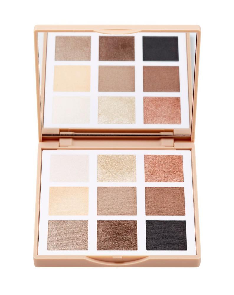 The eyeshadow palette nude 9 grs