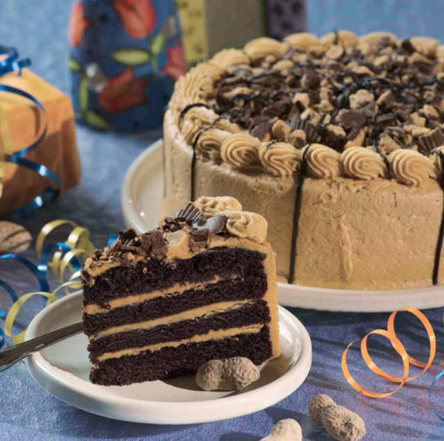 Peanut butter cup layer cake 1 Cake