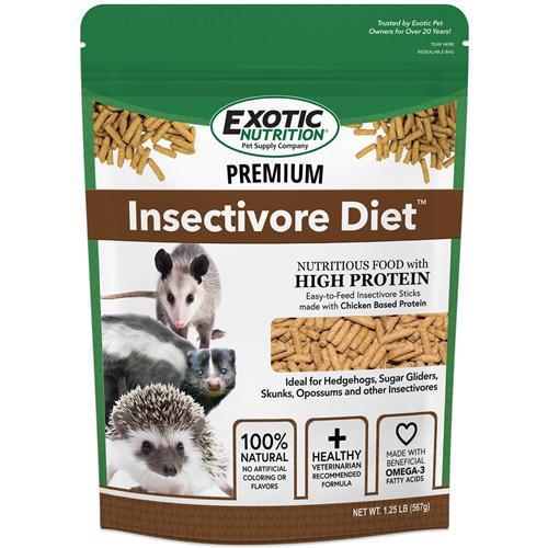Premium insectivore diet 1.25lb Bag