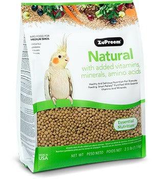 Natural cockatiel 2.5lb Bag