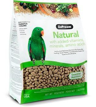 Natural small parrot 3lb Bag