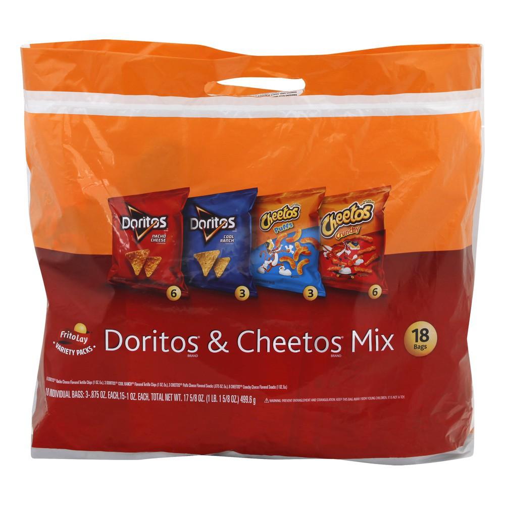 Doritos & Cheetos Mix 18 ct