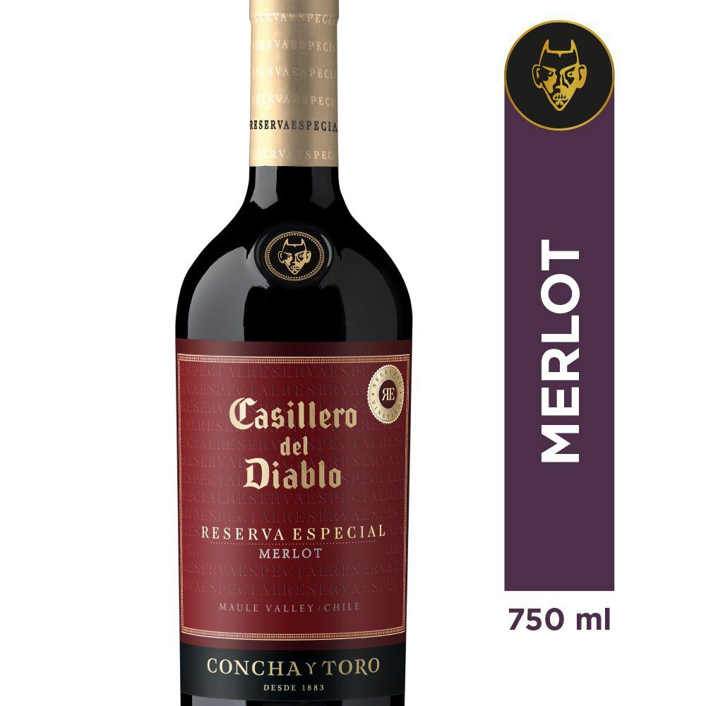 Vino Merlot reserva especial