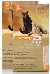 Antipulgas y Parásitos Intestinales Para Gatos Pequeños